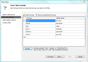 Filter Formulas
